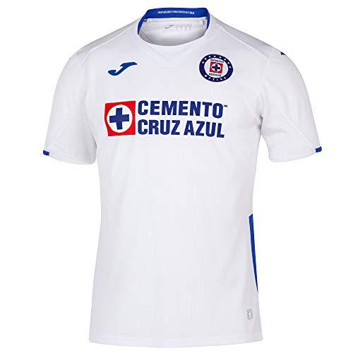 Joma 2019/2020 Cruz Azul Jersey's (White, Large) ()