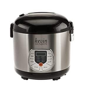 Kevin Dundon KDDRC10E 20-Cup Multi Cooker, White