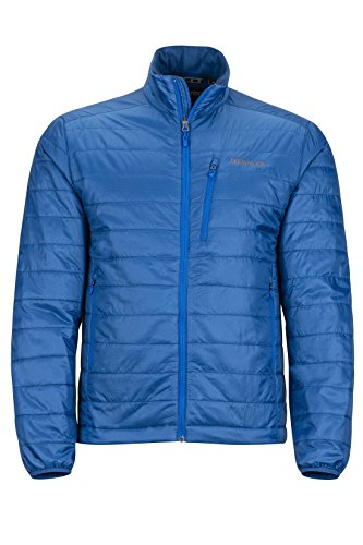 Marmot Calen Men's Insulated Puffer Jacket, Blue Sapphire by Marmot