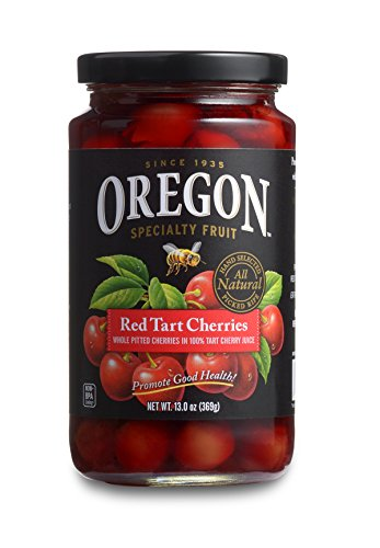 (Oregon Fruit Products Red Tart Cherries in Cherry Juice - 13 oz jar, (Pack of 4))