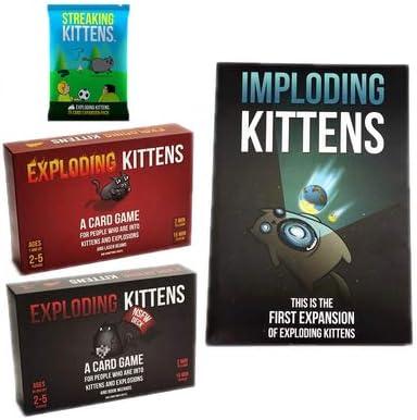 Xb Exploding Kittens: Un Juego de Cartas - En Inglés, Juegos de ...