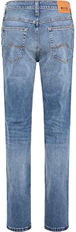 MUSTANG Męskie dżinsy Regular Fit Tramper: Odzież