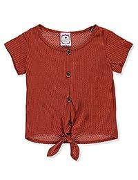 2 Love Tween Girls' Tied Knit Top