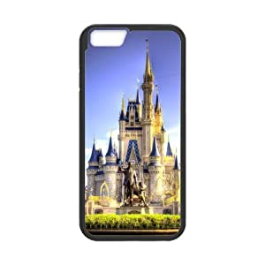Classic Style Custom Silicone Hard Rubber Case for iPhone6(4.7inch) - Fairy Tale Castle