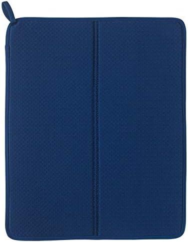 IKEA NYSKÖLJD - Alfombrilla de secado para platos (44 x 36 cm), color azul: Amazon.es: Hogar