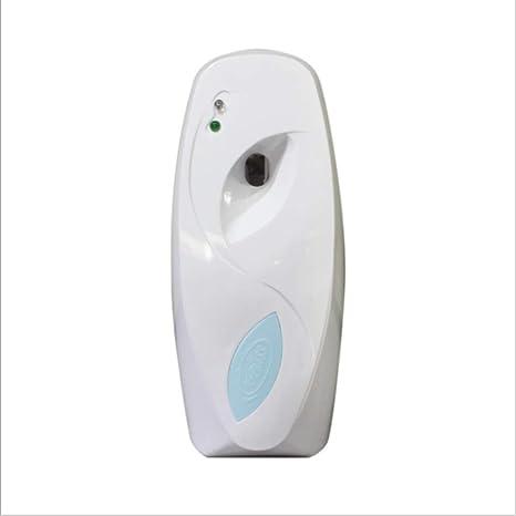 Sensor de luz automático aire ambientador Aerosol dispensador montado en la pared para inodoro automático de