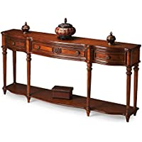 Butler specality company BUTLER 3028001 PEYTON VINTAGE OAK CONSOLE TABLE