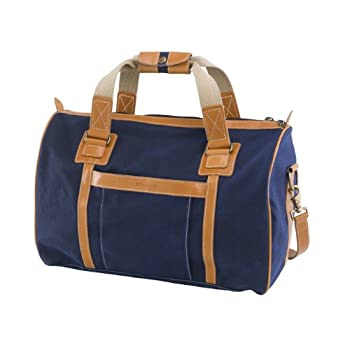 Image of BELDING American Collection Flight Bag, Navy Duffel Bags