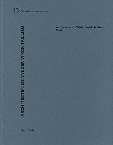 Architecten De Vylder Vinck Taillieu: De aedibus international (English and German Edition)