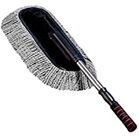 Latiq Mart Microfiber Car Duster/Cleaning Cloths Brush Dusting Tool, Grey