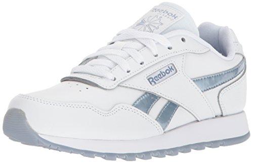 Reebok Vrouwen Klassieke Harman Run Sneaker Wit / Regenwolk / Bevriezing Metallic