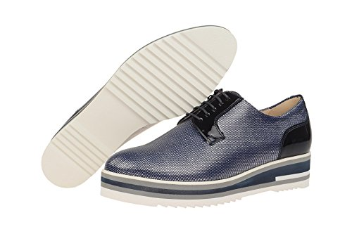 Peter Kaiser Emilie, Zapatos de Cordones Derby para Mujer Azul