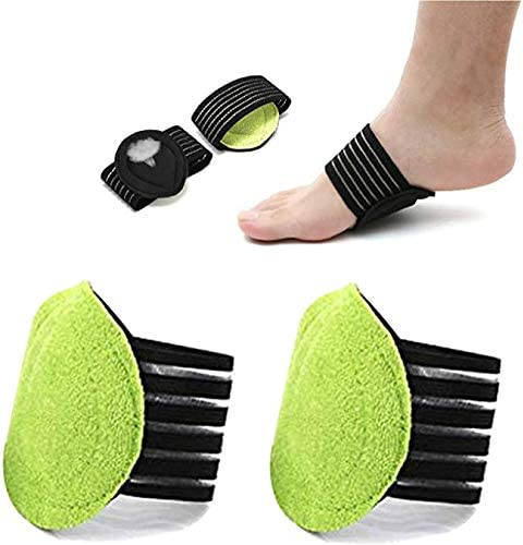 2 Pairs Compression Fasciitis Cushioned Support Sleeves, Plantar Fasciitis Foot Relief Cushions for Plantar Fasciitis, Fallen Arches, Achy Feet Problems for Men and Women