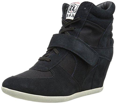 Ash Women's Bowie Fashion Sneaker,Black,40 EU/10 M US