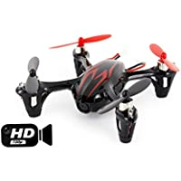 Hubsan X4 H107C with HD 2MP Camera 2.4G 4CH 6 Axis Gyro RC Quadcopter Mode 2 RTF Red Black
