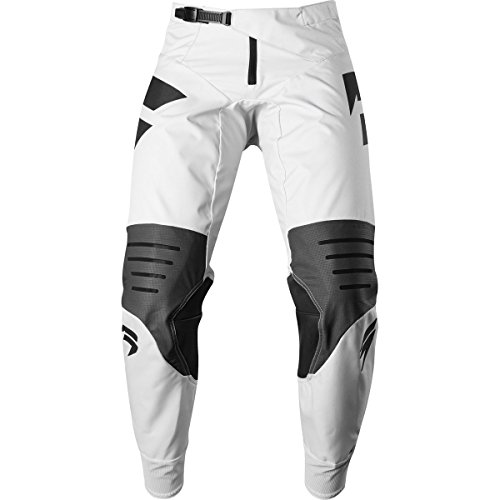 Shift Motorcycle Pants - Shift Racing 3lack Mainline Men's Off-Road Motorcycle Pants - 32 / Light Grey