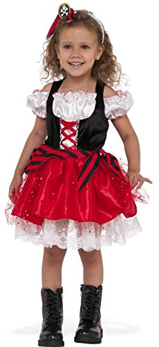 Rubie's Costume Child's Sweet Pirate Costume, Medium, Multicolor -