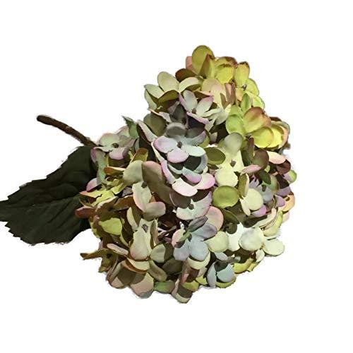 TELLW Artificial Simulation Painting Hydrangea Imitation Hydrangea European Hydrangea Wedding Hydrangea Flowers Art