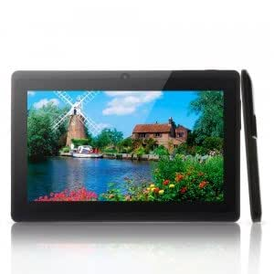 """Q8 7"""" Capacitive Touch A23 Dual-Core Android 4.2 4GB Tablet PC Dual-Camera Black"""
