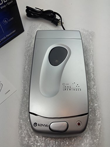Kinyo UV-428 VHS Video Cassette Tape Rewinder VCR Auto Stop Soft Eject