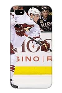 High Quality Fduuih-1275-ujczprn Phoenix Coyotes Hockey Nhl 10 Tpu Case For Iphone 4/4s