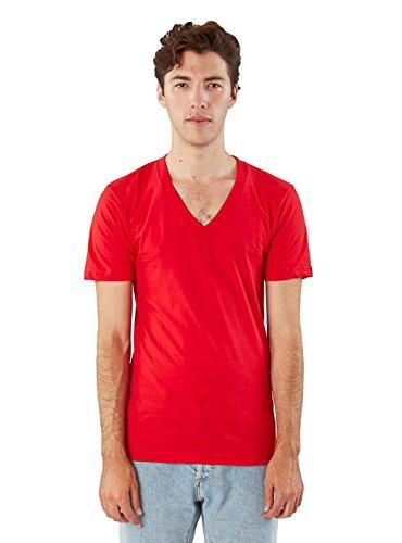 Apparel Uomo American shirt T Abbigliamento Rosso vqwxUwY