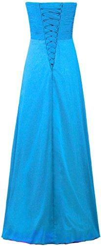 Evening Gowns Dresses Women's Bridesmaid ANTS Blue Long Chiffon 8zqCPYxwX