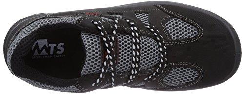 Schwarz Noir 40119 Sécurité MTS Grau Adulte Chaussures S1p Marin Flex Mixte Sicherheitsschuhe de OCxqU6Pw