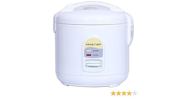 Master 334000056 Cocedor al Vapor CR01 Arrocera con Capacidad 1500gr. 400W: Amazon.es: Hogar