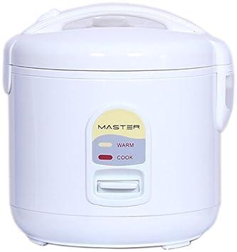Master 334000056 Cocedor al Vapor CR01 Arrocera con Capacidad 1500gr. 400W