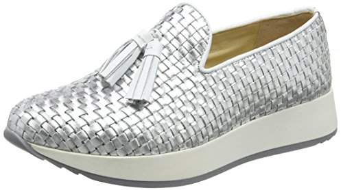 Stonefly Argent 058 Femme Chaussons 1 Face Silver pvOpHqB6n