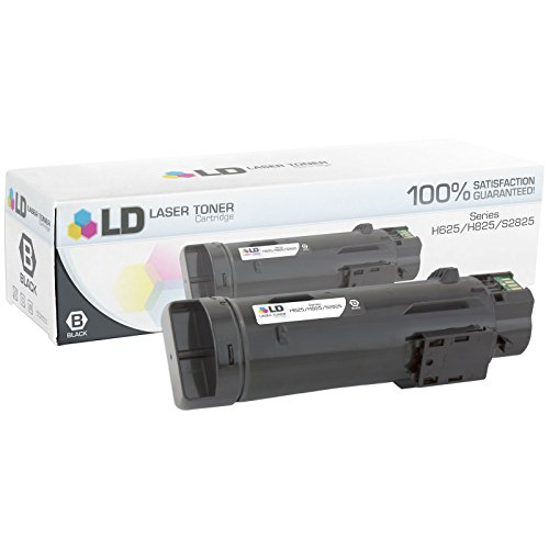 LD © Compatible Dell 593-BBOW / N7DWF Black Toner Cartridge for Laser H625cdw, H825cdw, S2825cdn