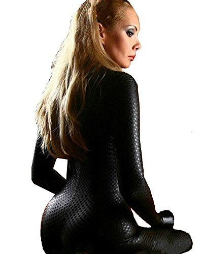 Fashion Queen Women's Faux Leather Costume