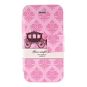 TOPMM Beautiful Carriage Design Pu Leather for iPhone 4/4S
