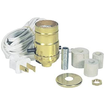 Westinghouse Lighting 70025 Corp Make-A-Lamp Kit - Lamp Parts ...