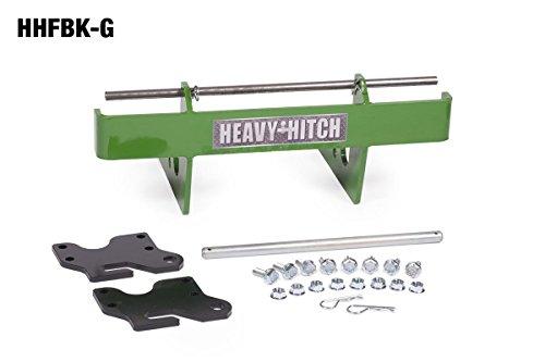 Quick Attach Front Weight Bracket (Complete Kit, John Deere Green)
