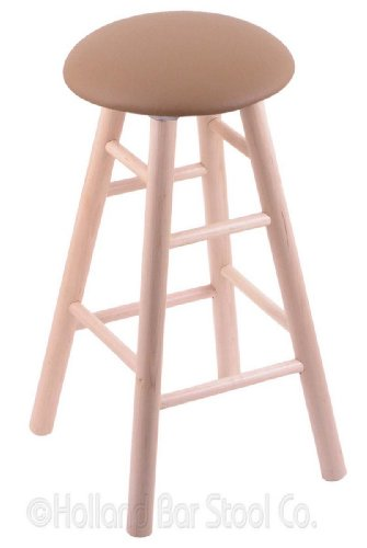 Maple Counter Stool in Natural Finish with Allante Beechwood - Wood Bar Maple Finish Pub