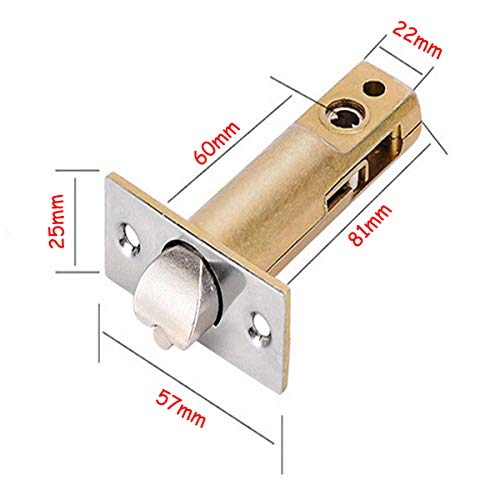 SPOTACT Combination Mechanical Lock Password Key Dual Use Multi Function Anti Theft Indoor and Outdoor Door Lock Lock Bolt by Spotact (Image #1)