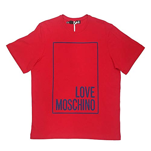 Love Red Shirt M3517 P05 Moschino 15 Donna W4f87 T PTv6P