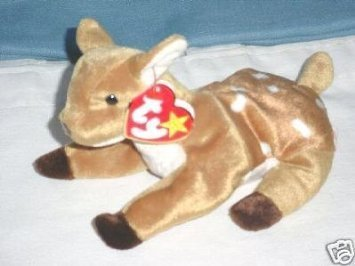 346788aaeb2 Image Unavailable. Image not available for. Color  TY Beanie Baby - WHISPER  the Deer ...