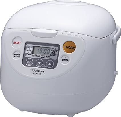 amazon com zojirushi ns wac18 wd 10 cup uncooked micom rice rh amazon com Zojirushi NS-ZCC10 Coating Zojirushi NS-ZCC10 Pan