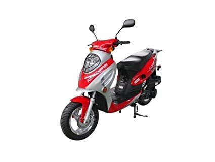 Amazon Com Tank Urban Sporty 150cc Moped Scooter Everything Else