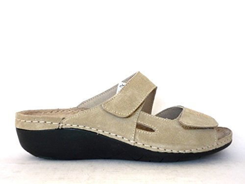 Pantofole 59FIBABEIG GRUNLAND Calzature Beige CI1315 CqxpxUvg