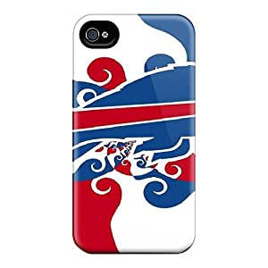 Hot Snap-on Buffalo Bills Hard Cover Case/ Protective Case For Iphone 4/4s