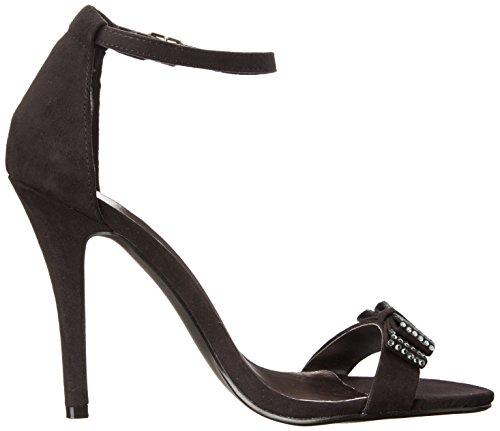 887865274490 - Madden Girl Women's Darlaaa Dress Sandal, Black Fabric, 7.5 M US carousel main 6