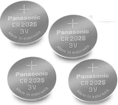 Panasonic Cr2025 3v Lithium Coin Cell Battery Dl2025 Ecr2025