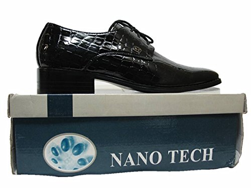 Scarpe Da Sposa Smoking, Scarpe Da Uomo Oxford Angelo Nero Di Nanotech