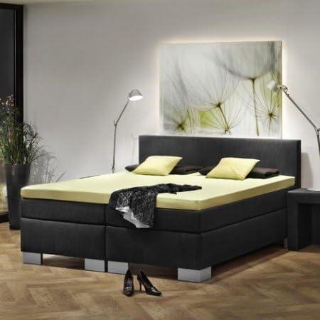 Dubai Black - Cama con somier tipo hotel: Amazon.es: Hogar