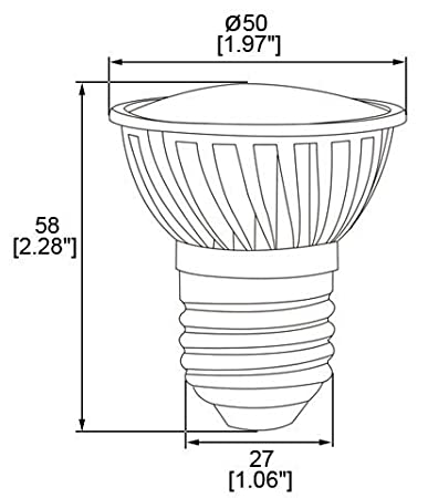 E27 Short Neck 120v