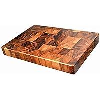 Davis & Waddell D3152 Acacia Wood End Grain Cutting Board, Natural